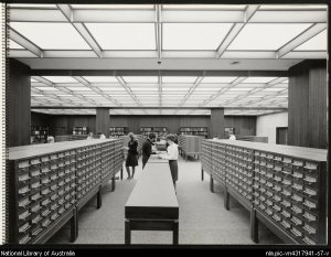 NLA card catalogues